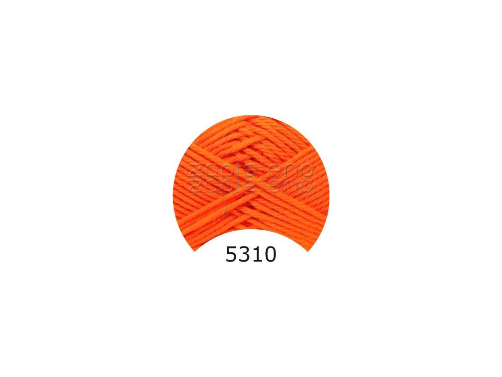 camilla 5310 oranzova 1