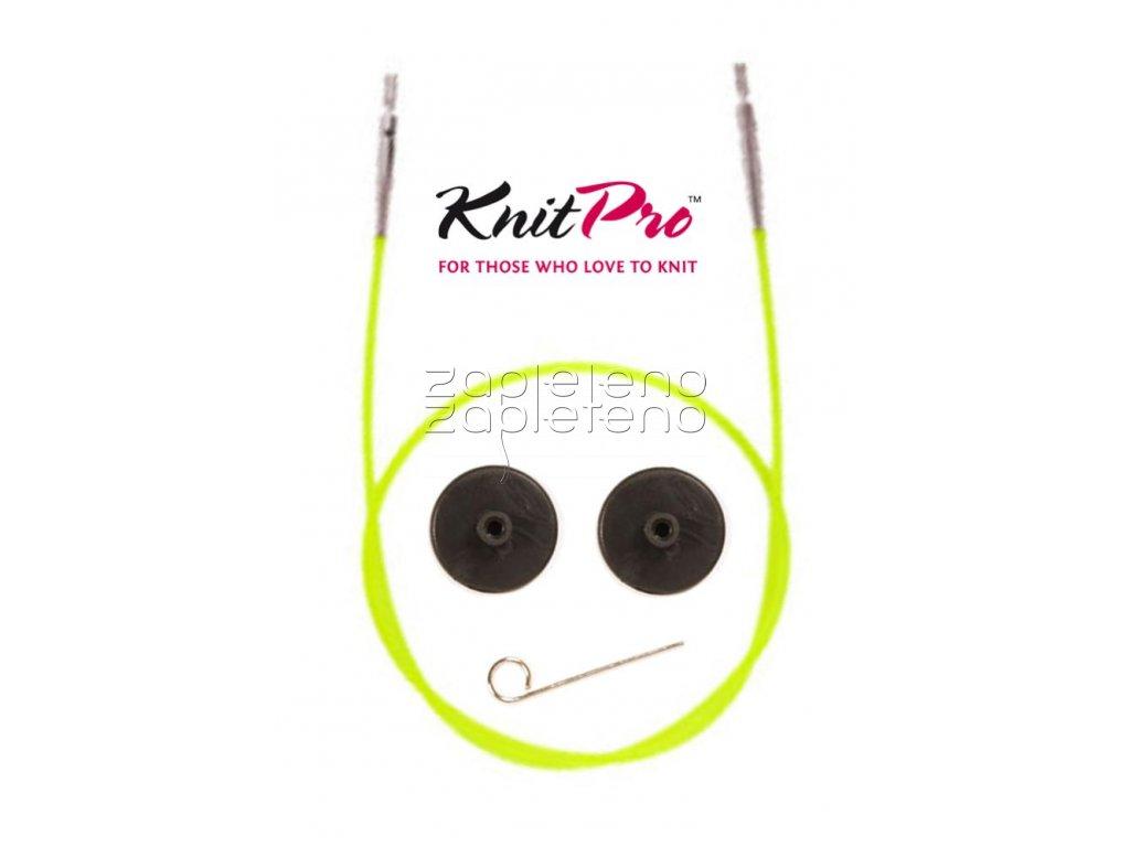lanko KnitPro zelena neon