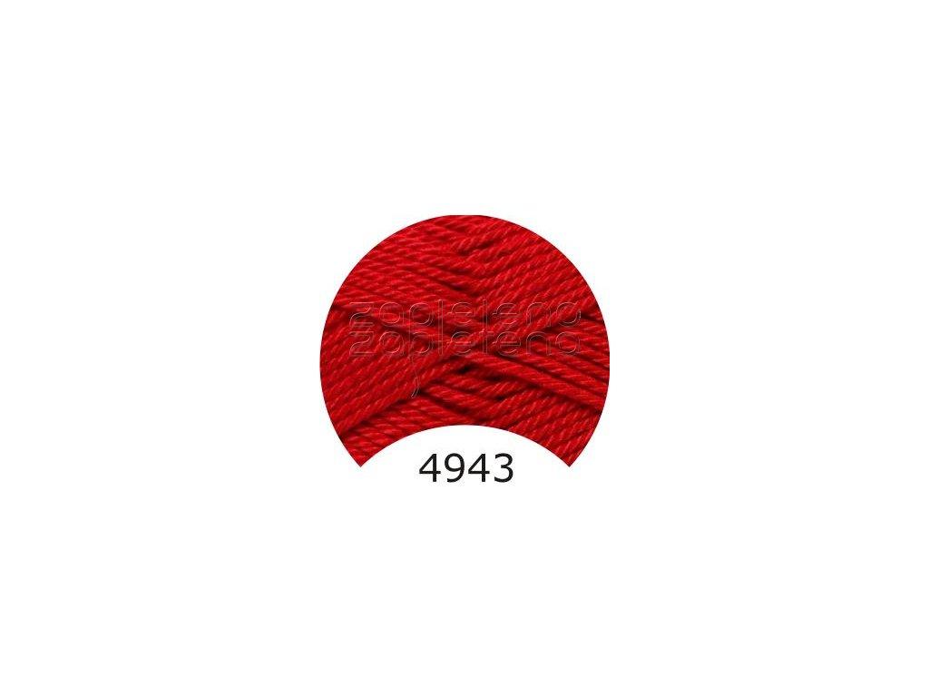 camilla 4943 tmave cervena