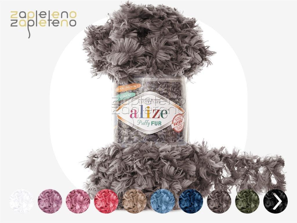 Puffy Fur Alize Zapleteno