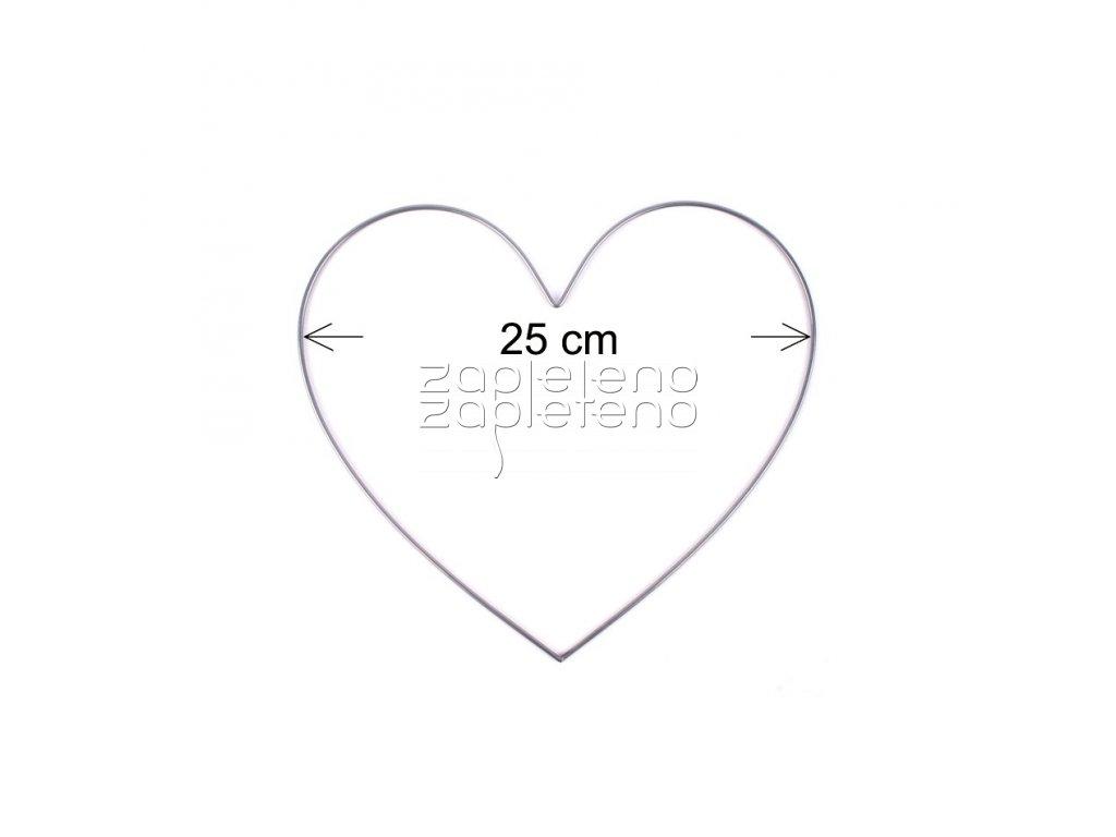 Srdce 25cm