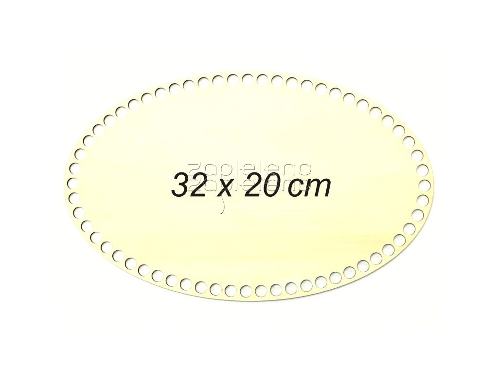 Dno oval 32x20cm