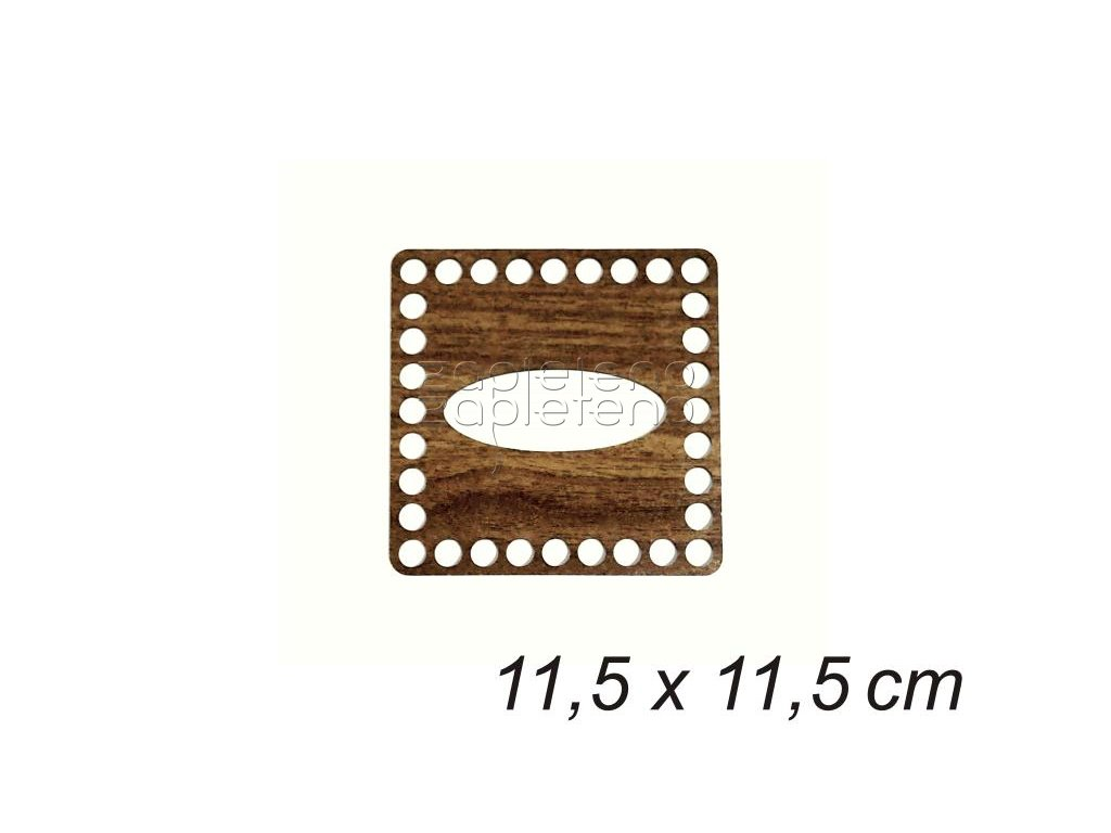viko kapesniky 11,5cm walnut