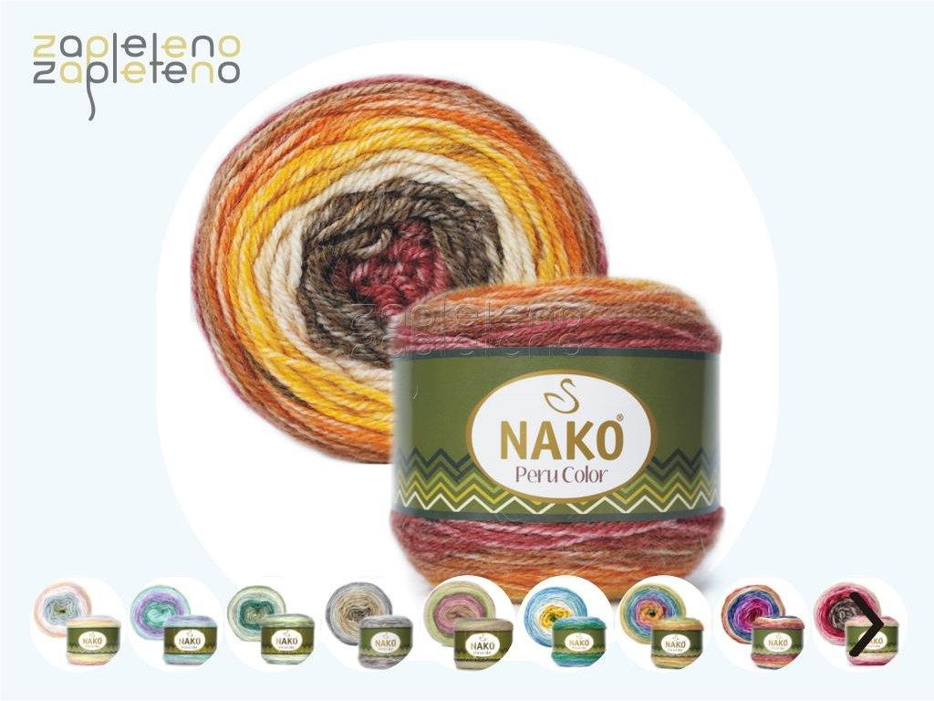 Peru Color Nako Zapleteno
