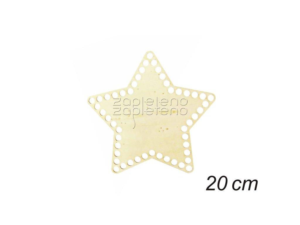 Dno hvezda 20 cm