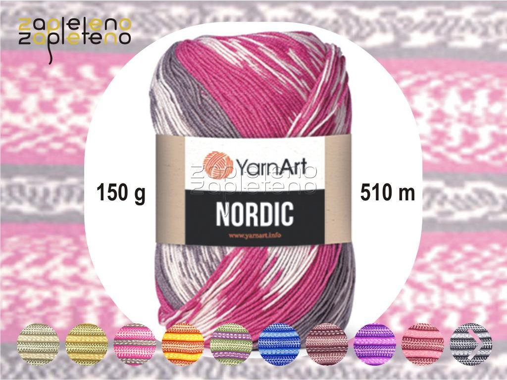 Nordic YarnArt Zapleteno
