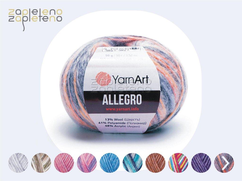 Allegro YarnArt Zapleteno
