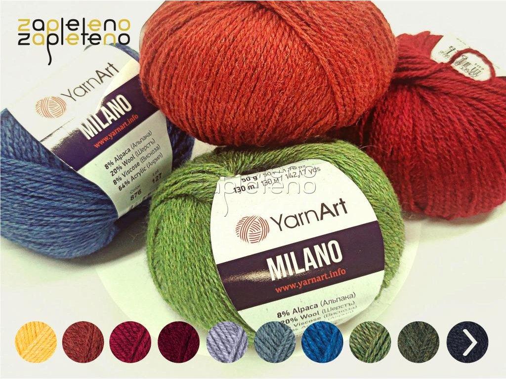 Milano YarnArt Zapleteno