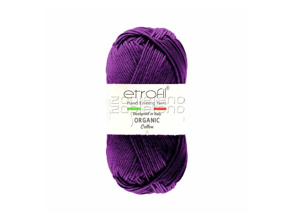 organic cotton EB043 purpurova