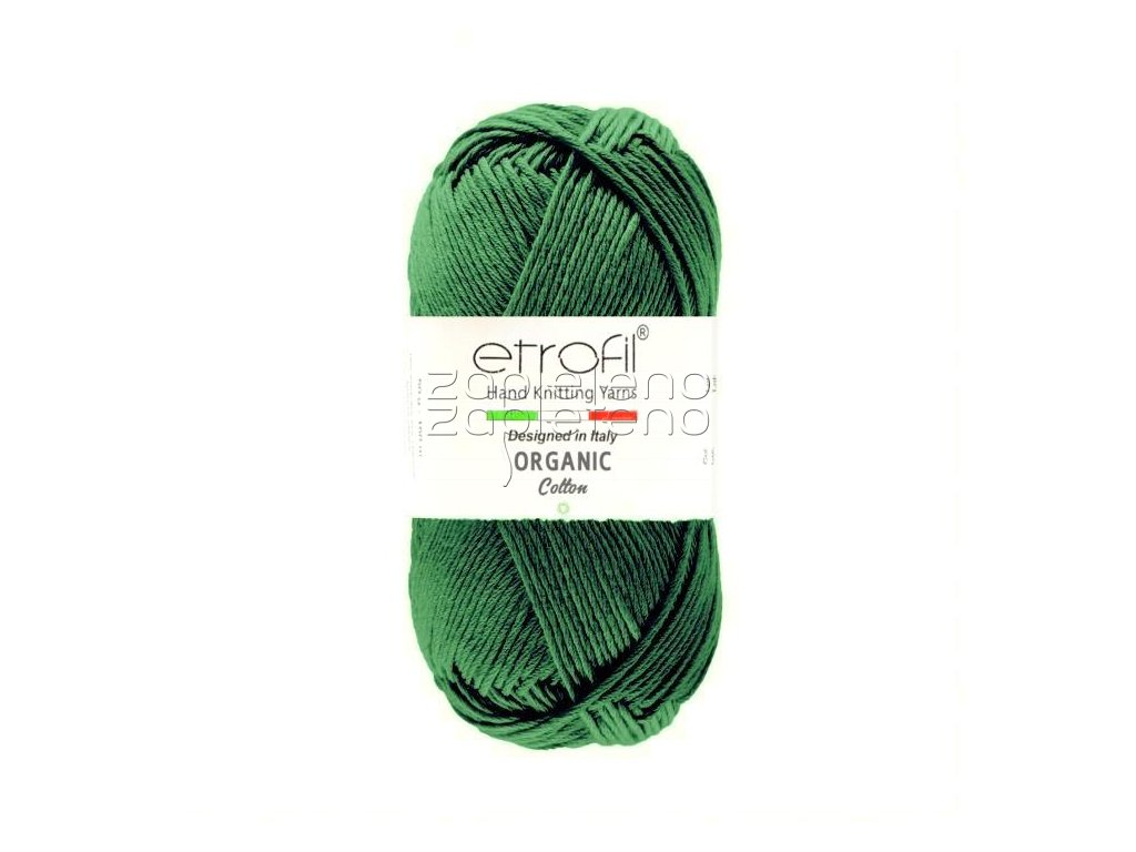 organic cotton EB044 zelena