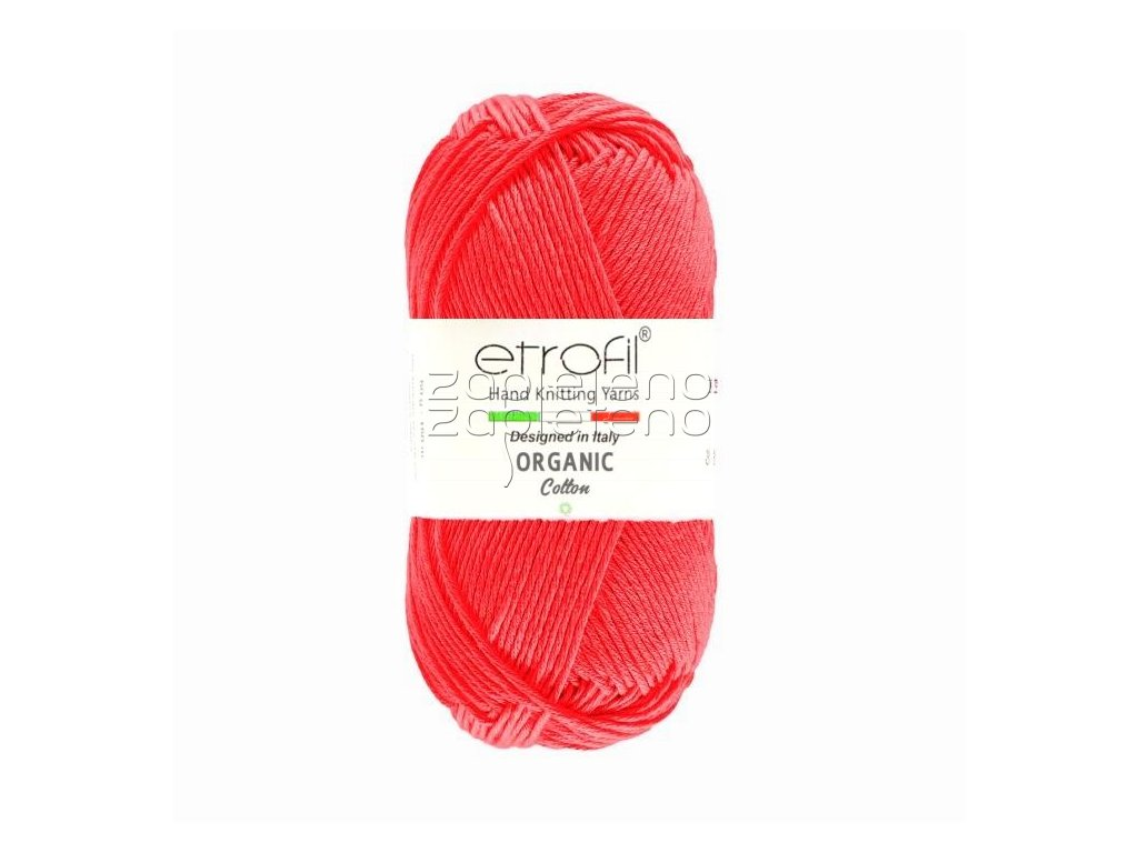 organic cotton EB050 malinova