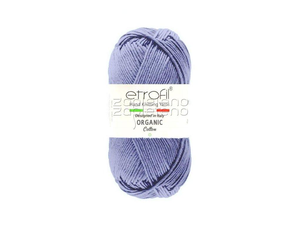 organic cotton EB052 modra