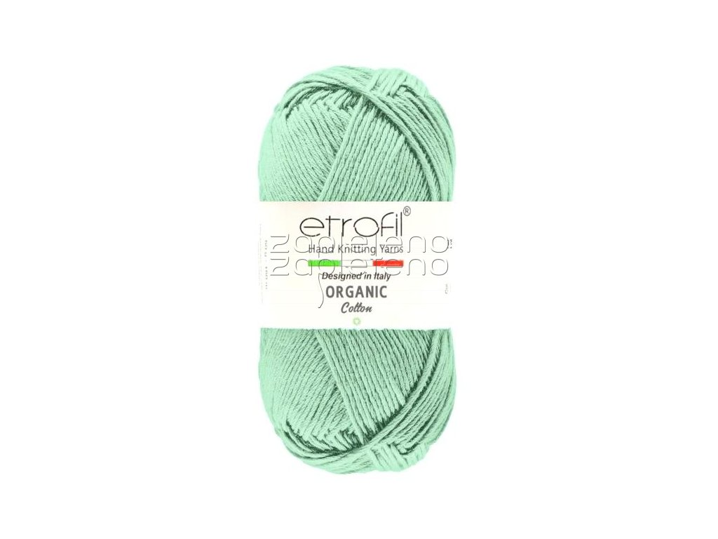 organic cotton EB055 mint