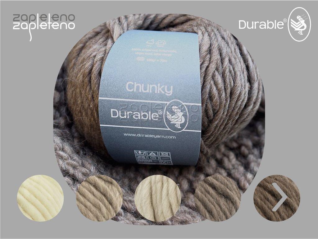 Durable Chunky Zapleteno