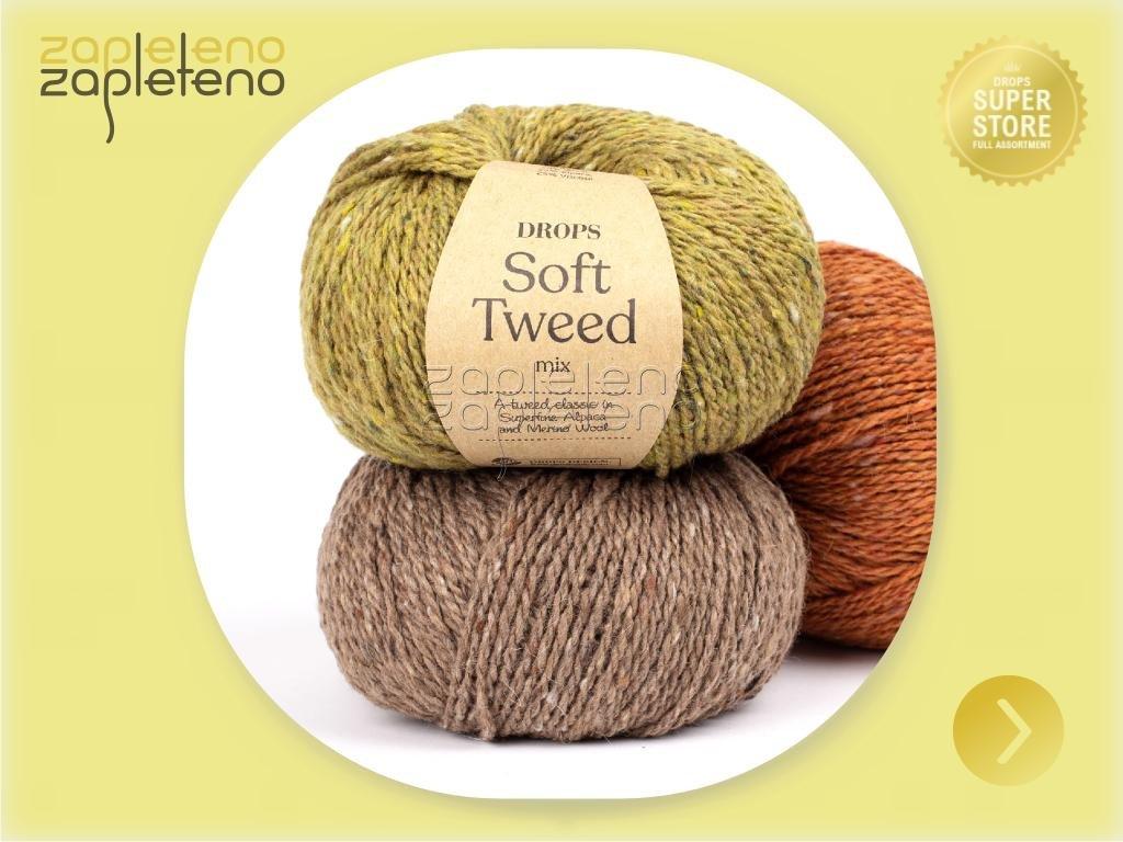 DROPS Soft Tweed Zapleteno