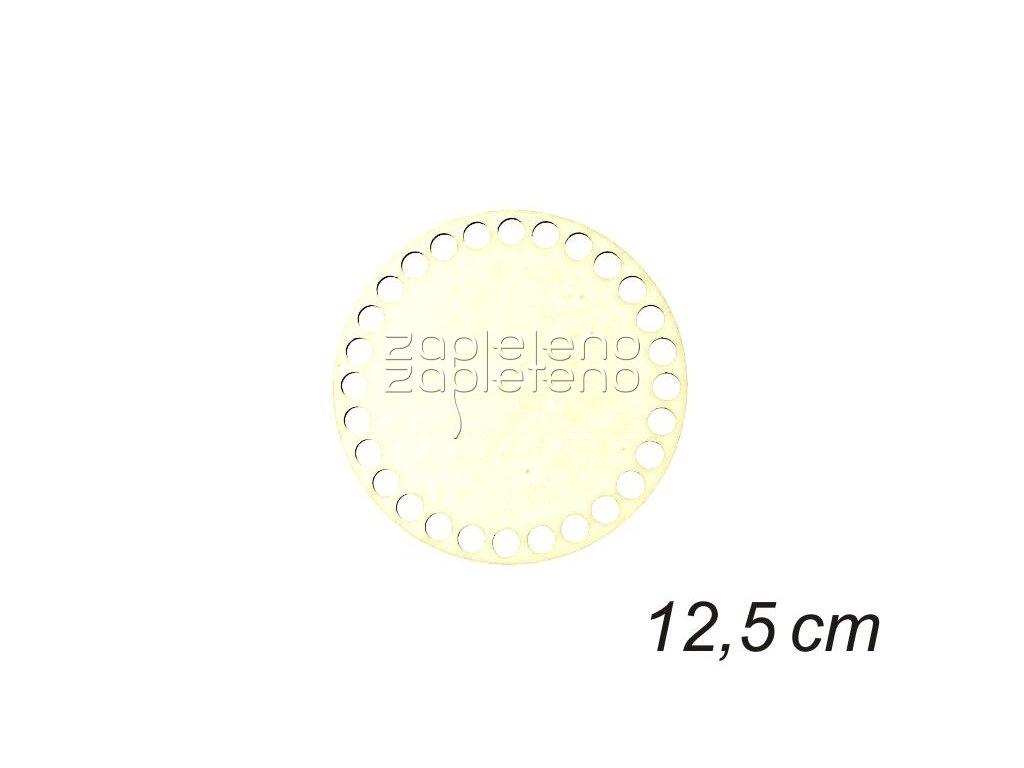 Dno kruh 12,5 cm