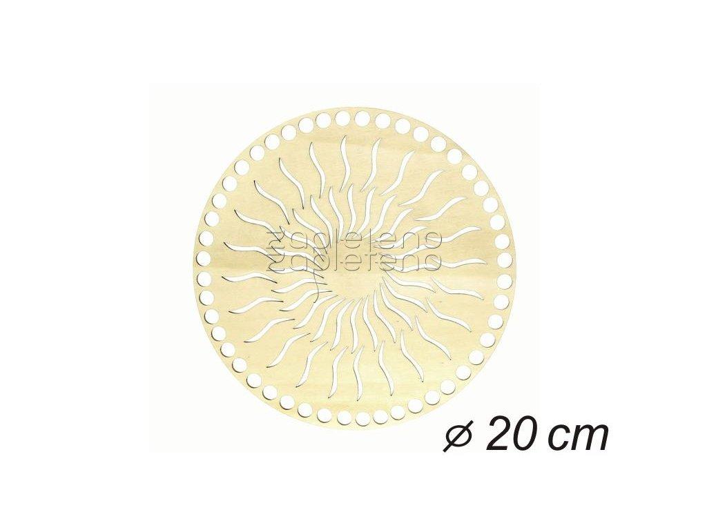 Viko kruh slunce 20cm