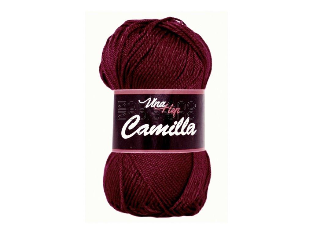 Camilla VH 8124 - tmavá bordó