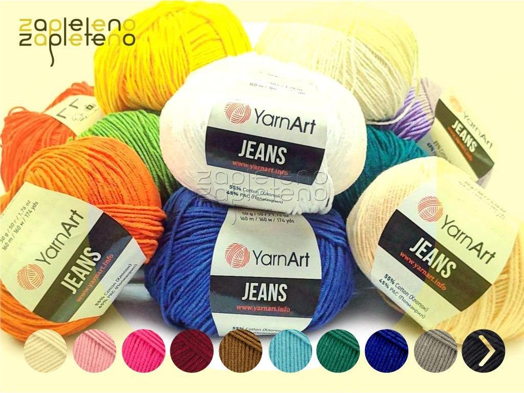Jeans YarnArt Zapleteno