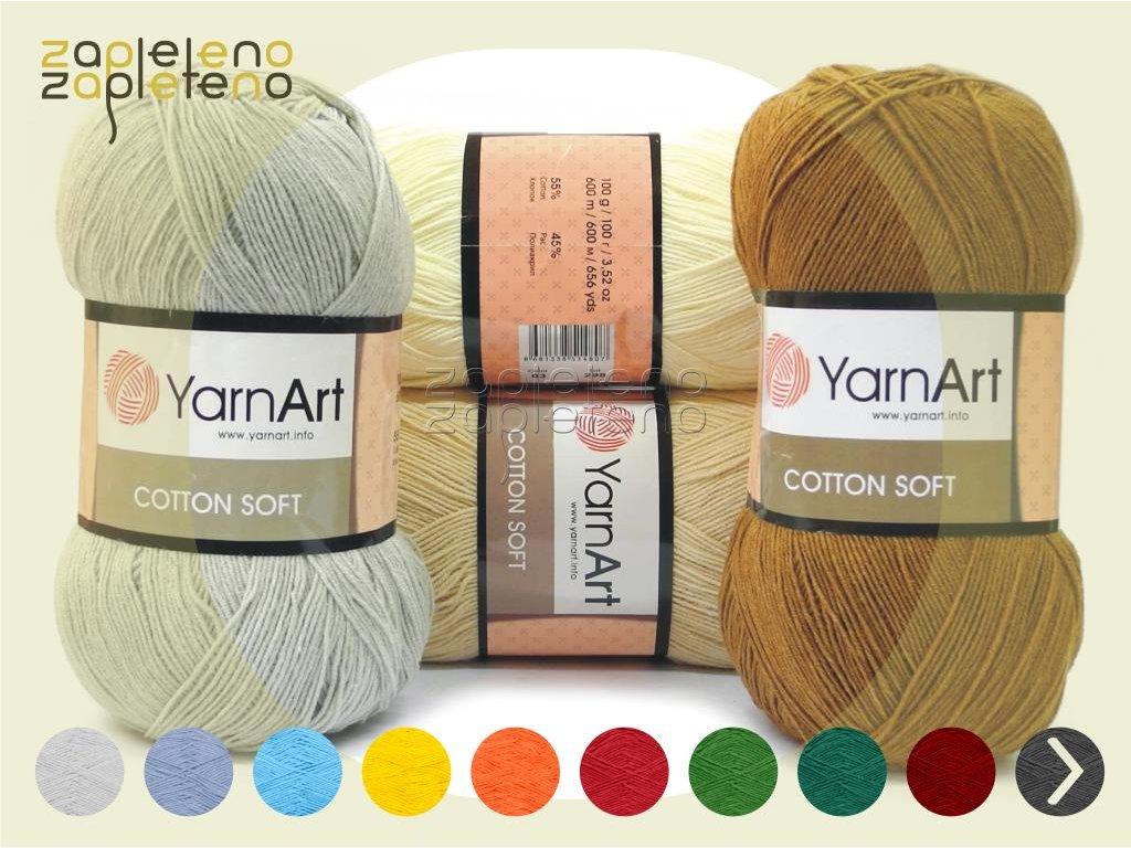 Cotton Soft YarnArt Zapleteno