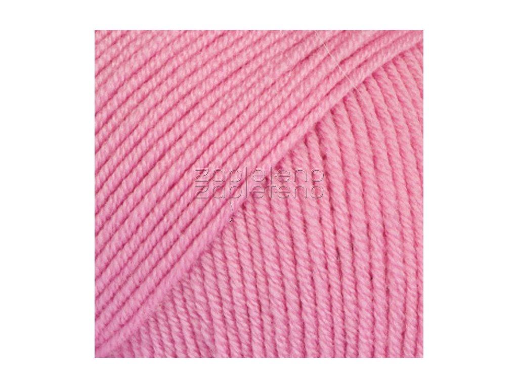 07 růžová uni colour