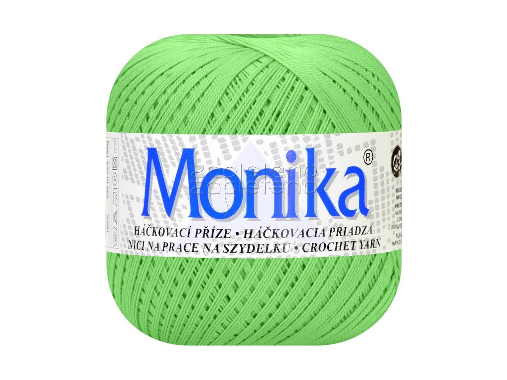 Monika 6144 - zelená mint