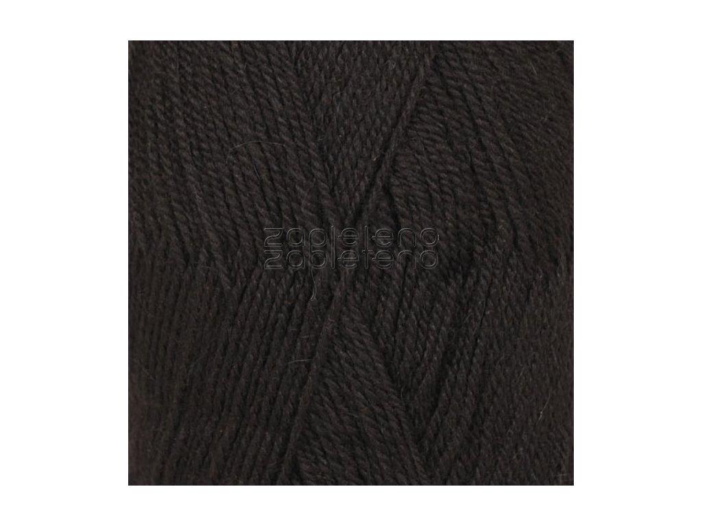 6 černá uni colour