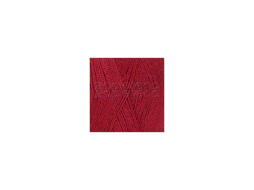 Lace Uni Colour 3620 - červená