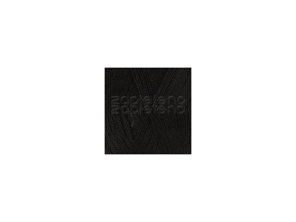 Lace Uni Colour 8903 - černá