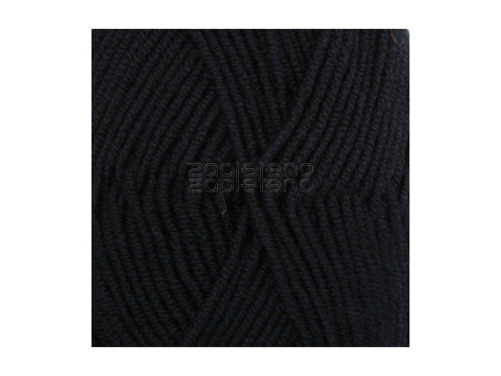 2 černá uni colour