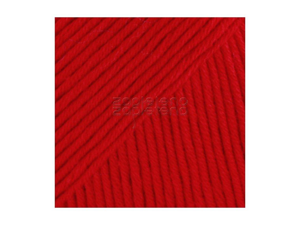 19 červená uni colour