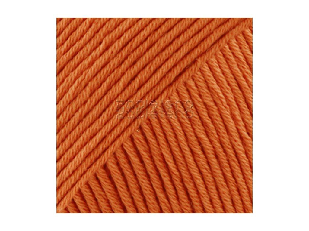 28 oranžová uni colour