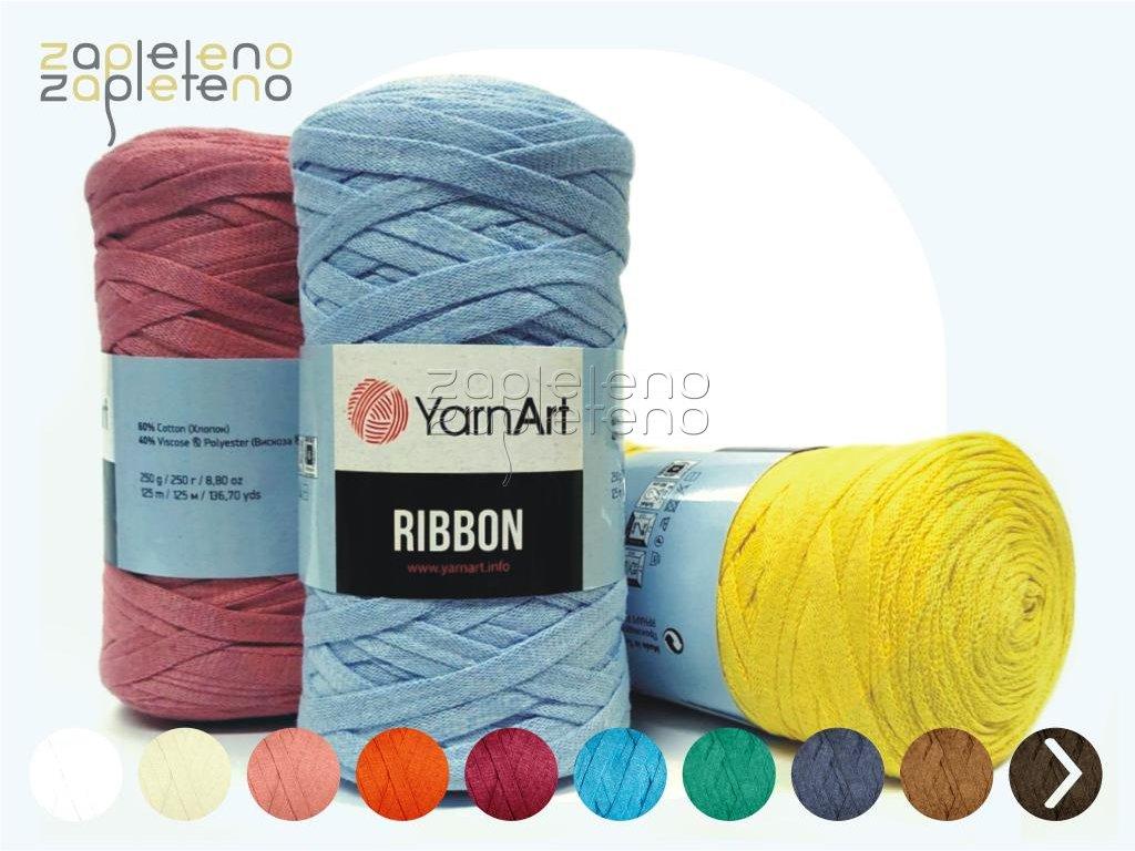 Ribbon YarnArt Zapleteno