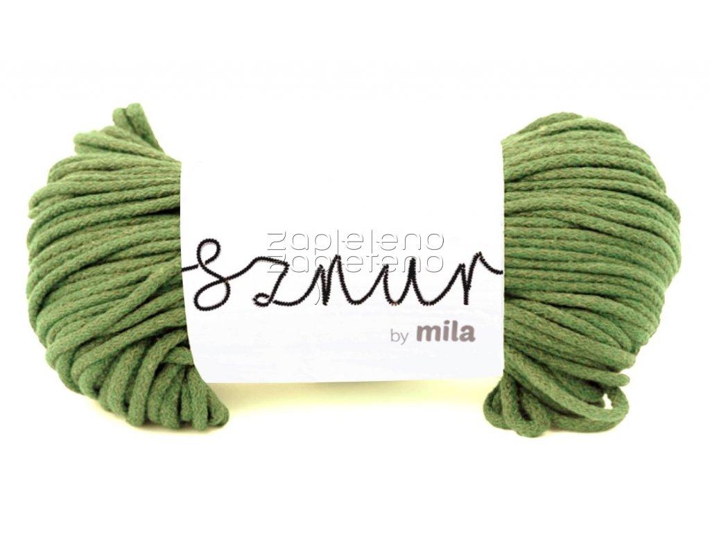 Mila 5mm olivova