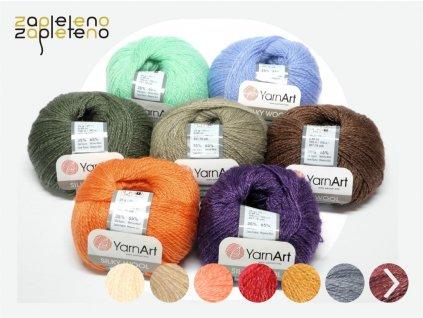 330 silky wool