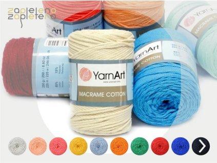 YarnArt Macrame Cotton Zapleteno