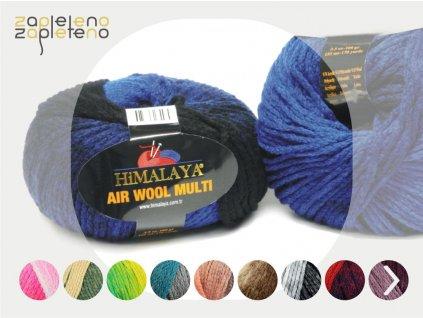 Air Wool Multi Himalaya Zapleteno