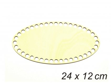 Dno oval 24x12cm