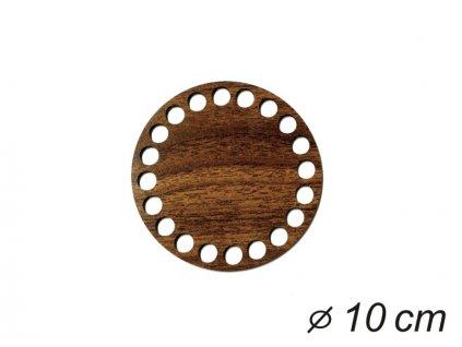 Dno kruh 10cm wenge