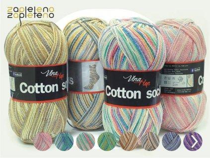 Cotton Socks VlnaHep Zapleteno