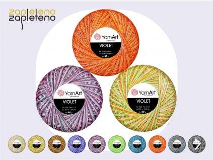 Violet YarnArt Zapleteno
