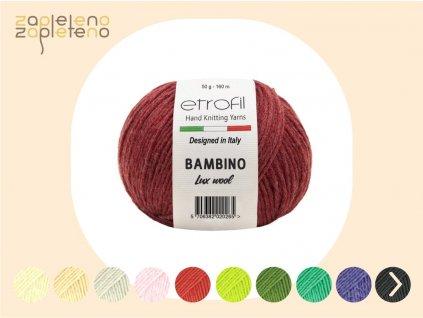Bambino Lux Wool Zapleteno