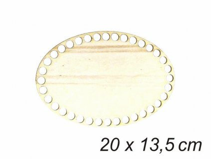 Dno oval 13,5x20cm