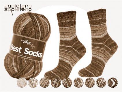 Best Socks Vlna Hep Zapleteno doprodej