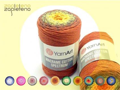 Macrame Cotton Spectrum YarnArt Zapleteno