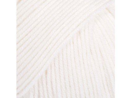 01 bílá uni colour