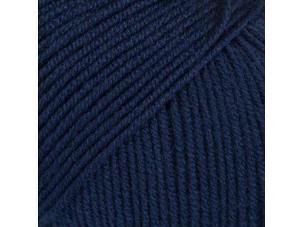 13 navy modrá uni colour
