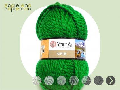 Alpine YarnArt Zapleteno