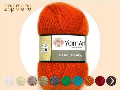 Alpine Alpaca YarnArt Zapleteno