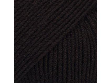 21 černá uni colour